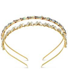 INC 2-Pc. Gold-Tone Crystal Headband Set, Created for Macy's