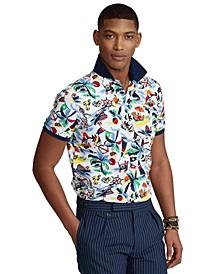 Men's Classic-Fit Polo Bear Mesh Polo Shirt