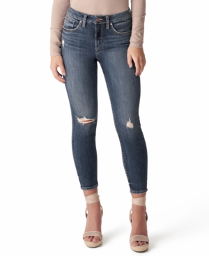 Silver Jeans Co. Skinny jeans AVERY HIGH-RISE SKINNY CROP JEANS