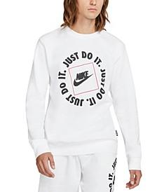 Men's Sportswear JDI Crew-Neck Fleece Sweatshirt
