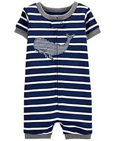 Baby Boys Whale Romper Pajamas