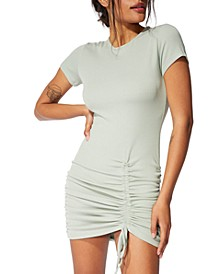Emery Ruched Mini Dress