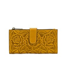 Nazari Embossed Leather Wallet