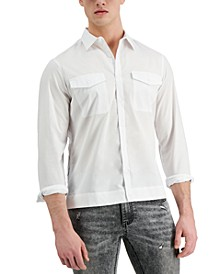 Allen Onyia for INC Men's Button-Down Shirt, Created for Macy's