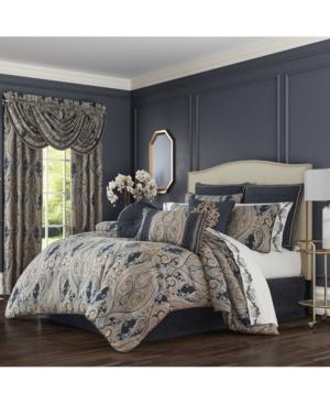 J Queen New York Comforters & quilts LAZARO KING 4 PIECE COMFORTER SET BEDDING