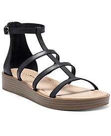 Ellian Flatform Wedge Gladiator Sandals