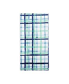 Watercolor Plaid Kitchen Towel