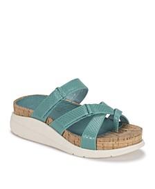 Selby Wedge Sandal Slides