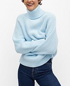 Women's Turtle Neck Knit Sweater