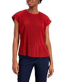 Pleated Sleeveless Top, Created for Macy's