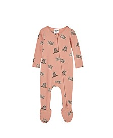 Baby Boys the Snug Long Sleeve Zip Romper