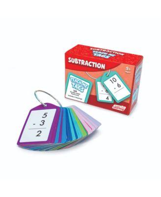 Junior Learning Subtraction Teach Me Tags - 168 Educational Flashcards