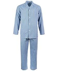 Men's Small Window Plaid Pajama Set, Created for Macy's