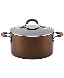 Innovatum XC Aluminum Nonstick 4.5-Qt. Covered Dutch Oven, Cocoa