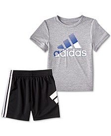 Baby Boys 2-Pc. In Motion T-Shirt and Shorts Set