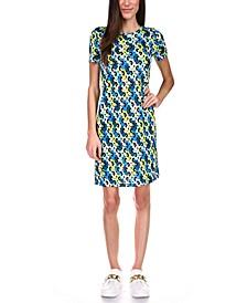 Floral-Printed T-Shirt Dress, Regular & Petite