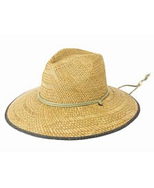 Men's Rush Straw Lifeguard Hat