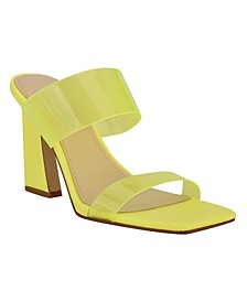 Women's Instaa Square Toe Barely-There Dress Sandals