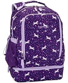 Kids Prints 2-in-1 Backpack & Lunch Bag - Unicorn