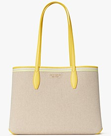 All Day Canvas Large Tote