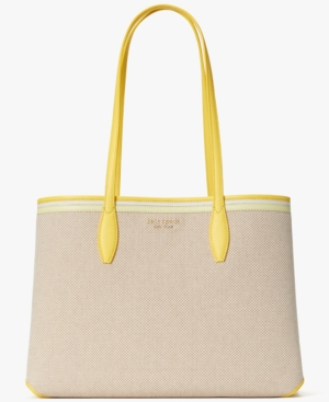 Kate Spade ALL DAY CANVAS LARGE TOTE
