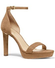 Michael Michael Women's Kors Margot Platform Dress Sandals