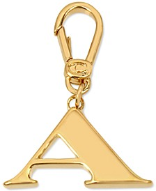 Gold-Tone Collectible Initial Charm
