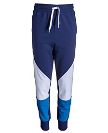 Big Boys Colorblocked Jogger Pants, Created for Macy's