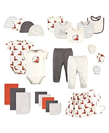 Baby Girls and Boys Layette Giftset, Set of 25