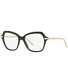 DG3311 Women's Butterfly Eyeglasses