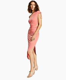 INC One-Shoulder Asymmetrical Dress, Created for Macy's