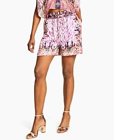 Printed Drawstring Shorts, Created for Macy's