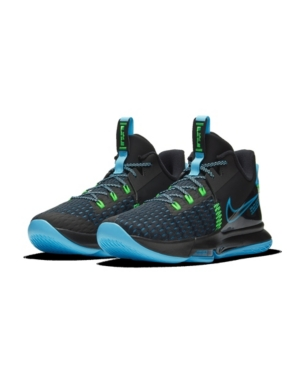 Nike Activewears MEN'S LEBRON WITNESS V BASKETBALL SNEAKERS FROM FINISH LINE