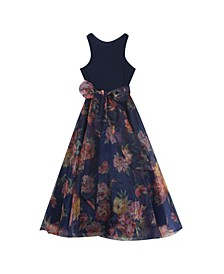 Big Girls Organza Maxi Dress