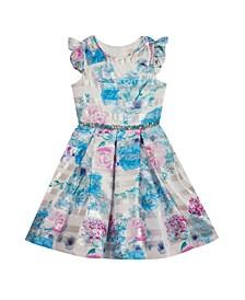 Big Girls Printed Woven Dress