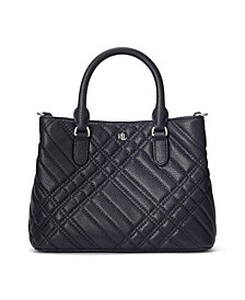 Mini Marcy II Plaid Quilted Satchel
