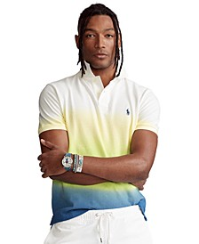 Men's Classic-Fit Dip-Dyed Polo Shirt