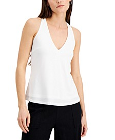 INC V-Neck Halter Top, Created for Macy's