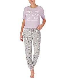 Beauty & The Beast T-Shirt & Jogger Pants Pajama Set
