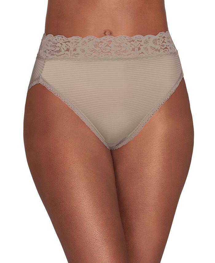 Vanity Fair - Flattering Lace Hi Cut Panty 13280