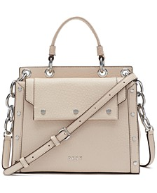 Gianna Small Leather Satchel