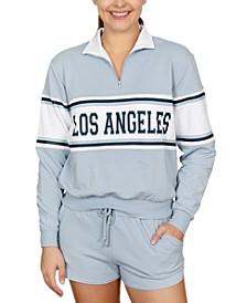 Juniors' Los Angeles Graphic-Print Fleece Sweatshirt