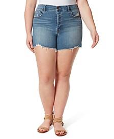 Trendy Plus Size Infinite High Waist Shorts