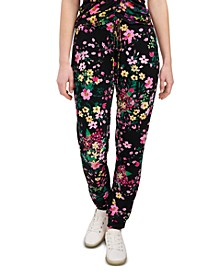 Mabel Floral-Print Pants, Created for Macy's