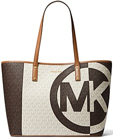 Carter Large Signature Open Tote
