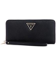 Noelle Large Zip Around Wallet