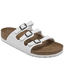 Women's Florida Birko-Flor Nubuck Soft Footbed Sandals from Finish Line