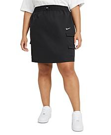 Plus Size Sportswear Swoosh Skirt