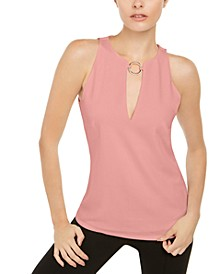 INC O-Ring Keyhole Top, Created for Macy's