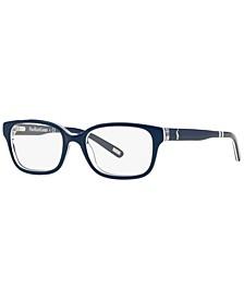 PP8520 Men's Rectangle Eyeglasses